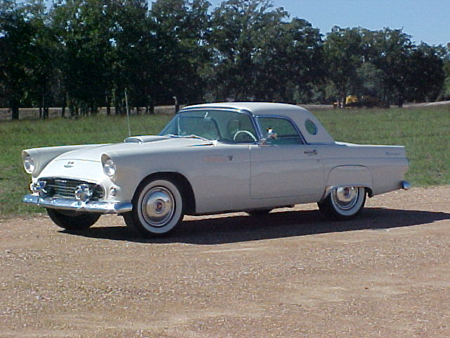 1955 THUNDERBIRD ASKING   REDUCED TO ASKING PRICE OF $29,955